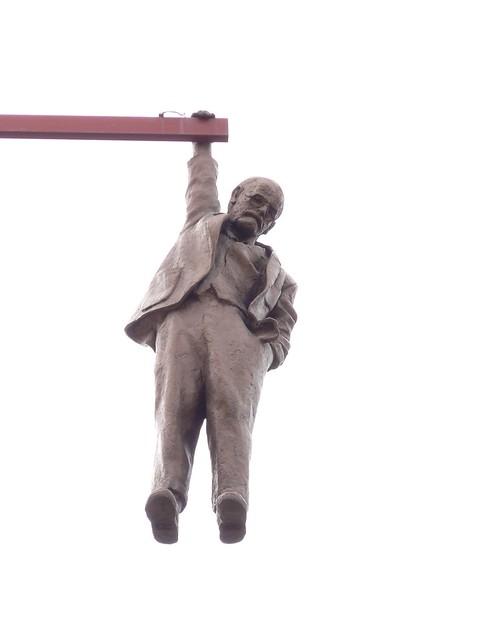 Statue von David Černý