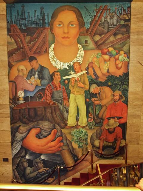 Diego rivera fresco riches of california 1931 flickr for Diego rivera san francisco mural