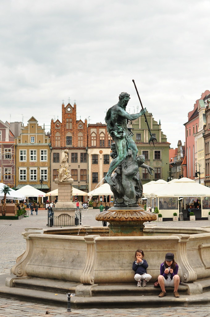 Poznan's old town