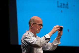 Piet Schreuders at TYPO Berlin 2010