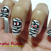 Nail Art Halloween Mummies 07