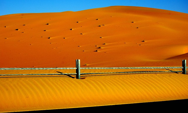 Liwa. desert dunes, Abu Dhabi