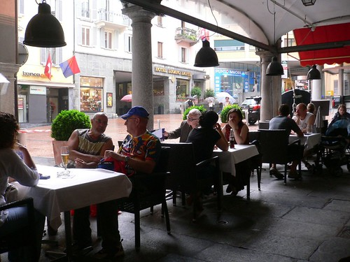 Italian Cafe in Lugano
