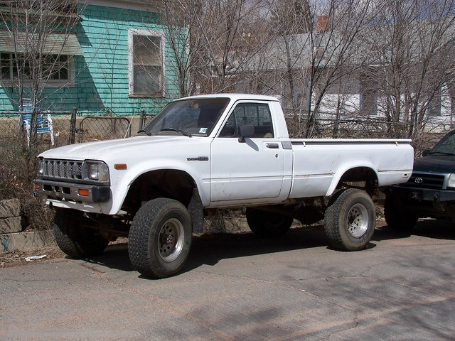 1983 toyota 4x4 pickup full story at flickr photo sharing. Black Bedroom Furniture Sets. Home Design Ideas
