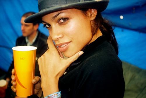 Rosario Dawson.