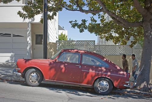 Street Parking: VW Fastback