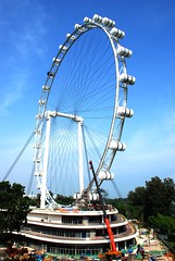 Singapore Flyer ,Marina Bay, Singapore : Wow