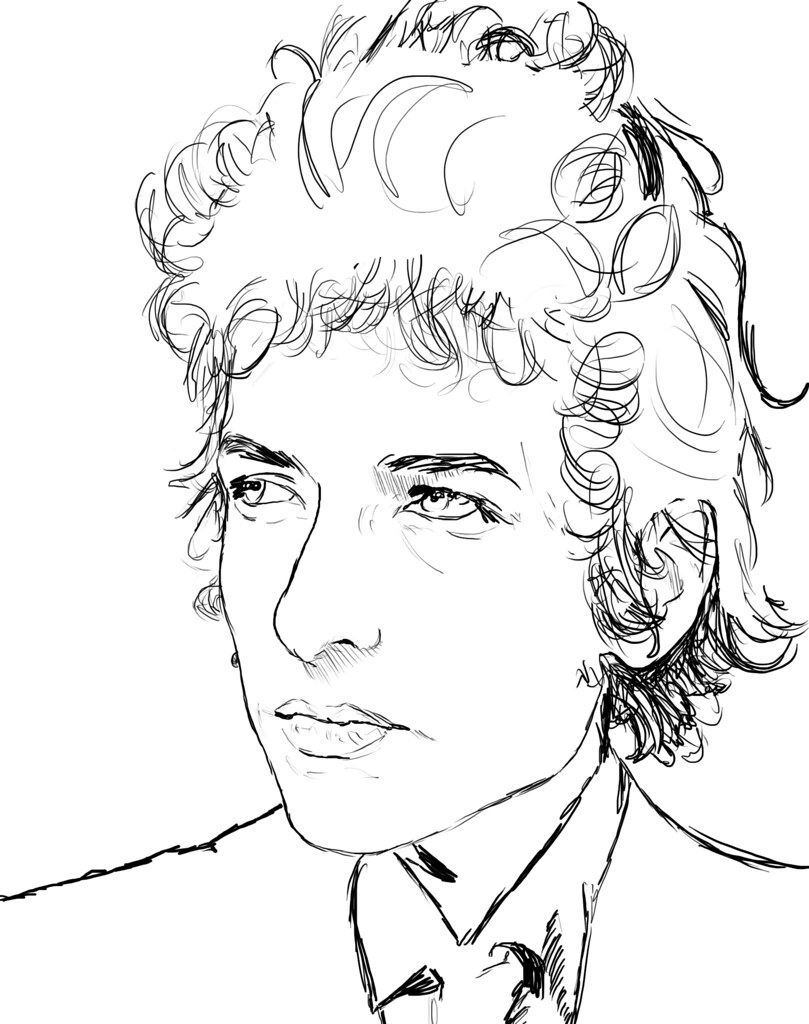 bob marley free colouring pages