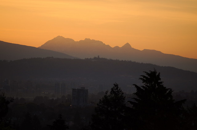 Vancouver sunrise, 14 May 2010