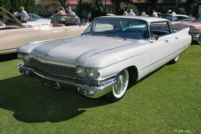 1960 Cadillac Sedan deVille - white - fvl