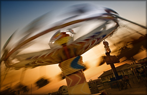 The Kite Flyer at Morey's Piers by Jeff_B.