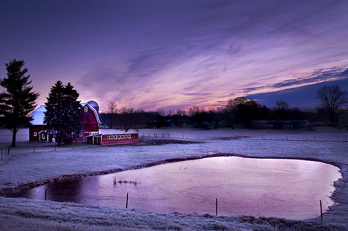 morning sun sunrise landscape greg farm frosty land rise scape dunbar