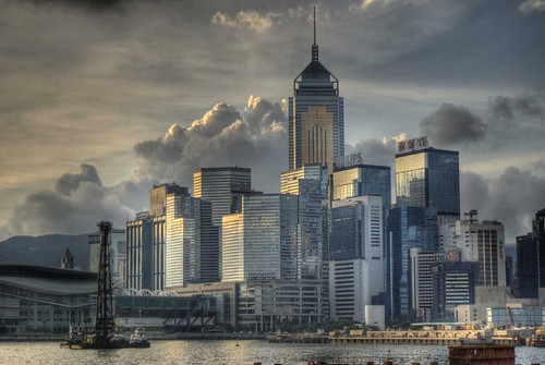 Hong Kong Morning Skyline
