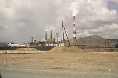 industry, power station,