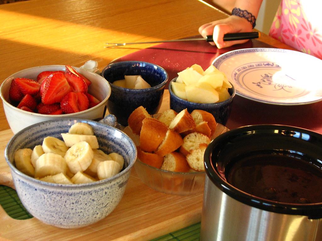 Chocolate Fondue Recipe Melting Pot