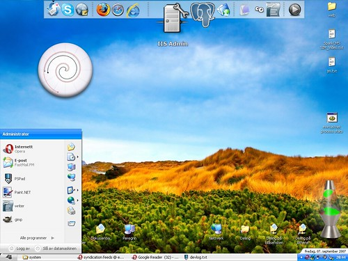 My bastard of a desktop