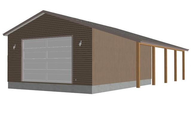 Rv garage plans sds g246 30 x 40 x 14 12 doors workshop for 30x40 garage with apartment
