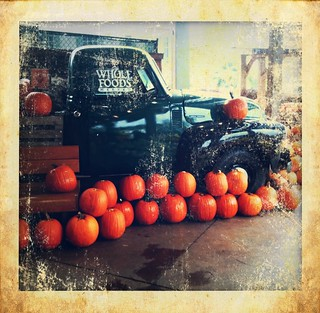 Pumpkin Time at Whole Foods