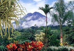 Beautiful Costa Rican landscape