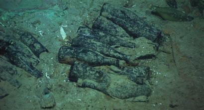Titanic Wine Bottles Lying Still Intact Five Miles Down