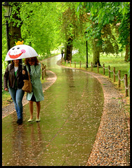 Cambridge rain: Smile