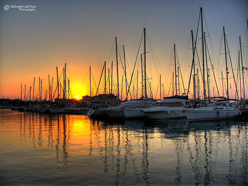 Sunset at La Marina