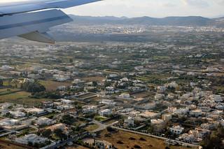 Vue aérienne du quartier Chotrana (La Soukra)