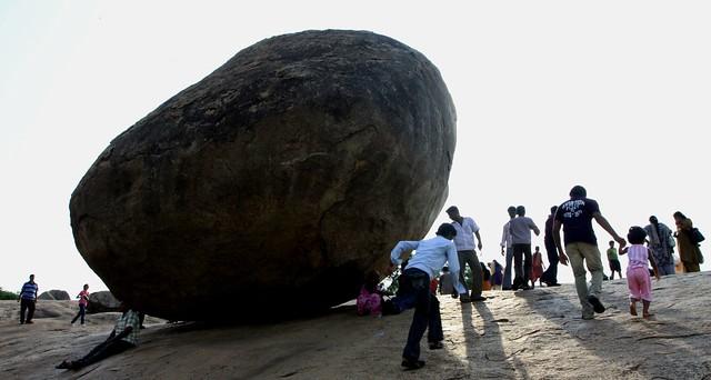 mamallapuram Krishna's Butter Ball
