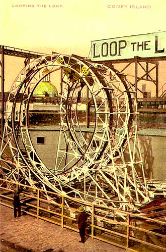 Loop the Loop Roller Coaster Coney Island 1901