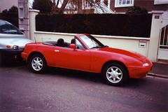 automobile, automotive exterior, vehicle, performance car, mazda mx-5, land vehicle, convertible, sports car,