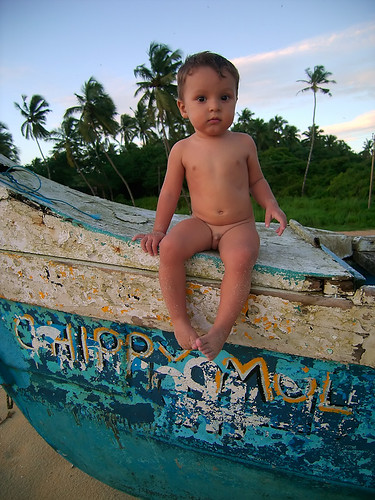 Ruben en Inde - île de DIU