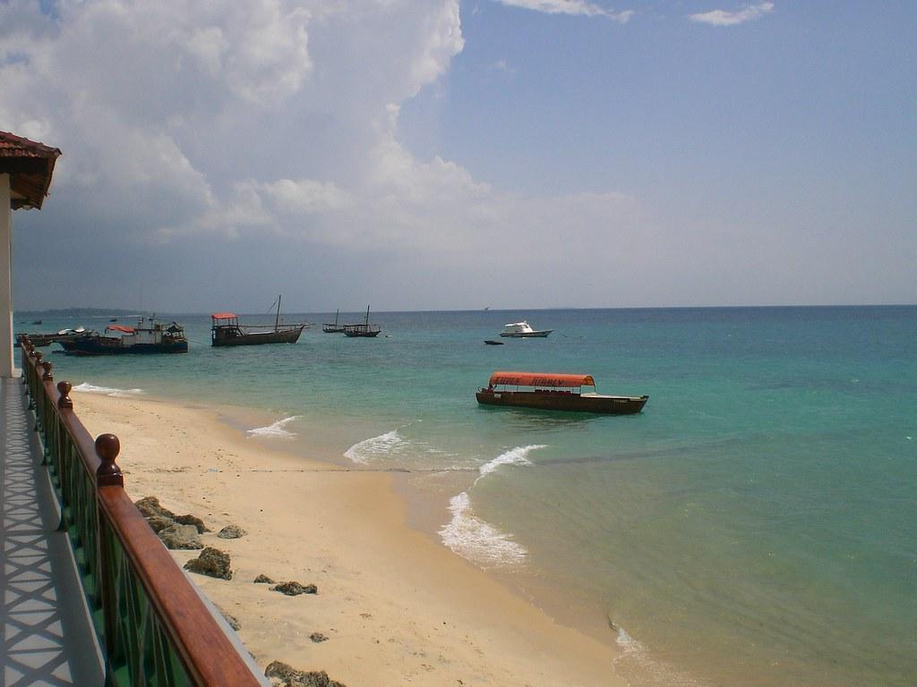 пляж Stone Town занзибар