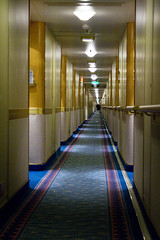 MS Caribbean Princess Hallway (for Cabins)