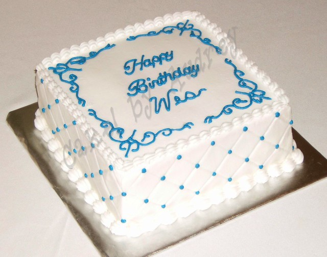 Images Of Square Birthday Cake : Birthday Square Cake Flickr - Photo Sharing!