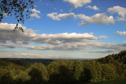 france clouds view vacance 2007 corrèze renardières
