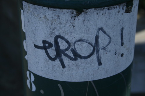 eROR! on streetlight