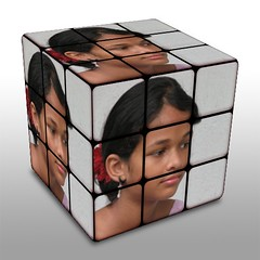 rubik's cube, mechanical puzzle, toy,