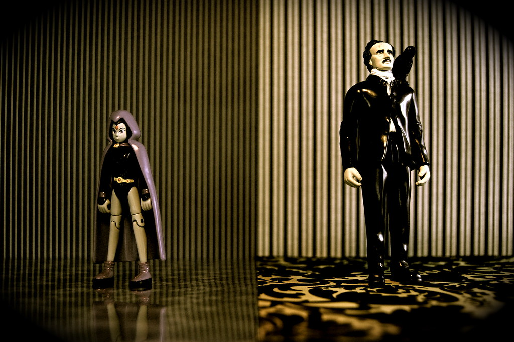 Raven vs. Edgar Allan Poe (172/365)