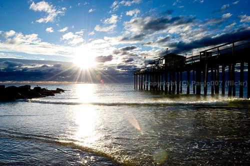 ocean blue sky beach clouds sunrise newjersey nikon surf waves wind grove nj shore jersey oceangrove nothdr d3s 1424f28 paulo007