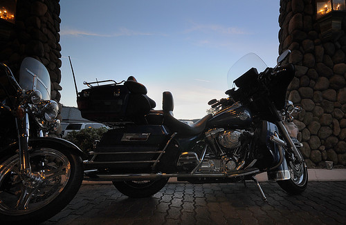 california usa sunrise nikon motorbike yosemite harleydavidson nomad oakhurst d300 shiloinn boondocking tramsteer