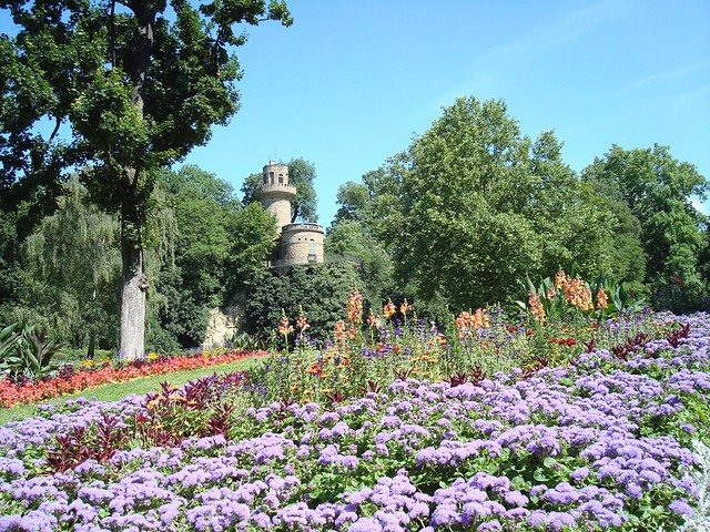 ludwigsburg palace gardens with rapunzel 39 s tower flickr photo sharing. Black Bedroom Furniture Sets. Home Design Ideas
