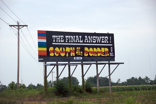 South of the Border Road Signs
