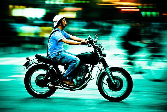 Tokyo biker
