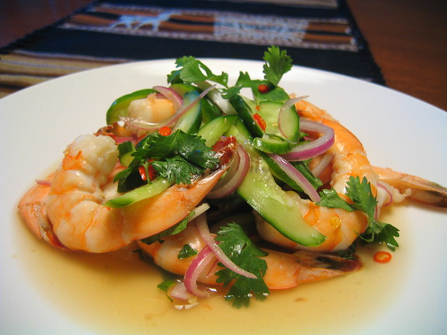 thai shrimp salad | Flickr - Photo Sharing!