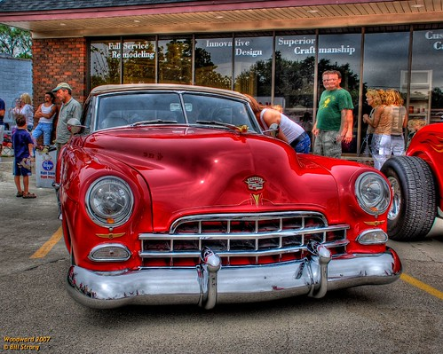 red gm detroit cadillac hdr 2007 photomatix woodwarddreamcruise d80 3exp gmfyi 4elvis