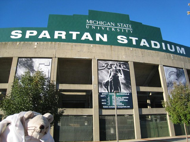 MSU Spartans Football Stadium