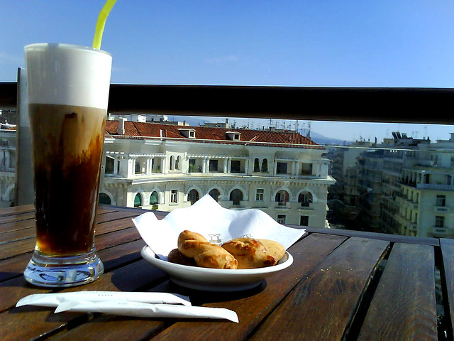 what more can I ask ?coffee, My Best friend, a sunny day & an amazing view