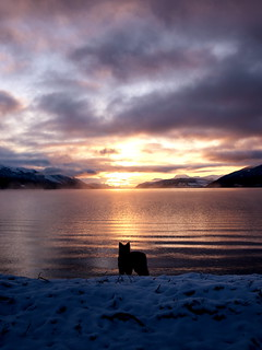 Sunset at Loch Ness