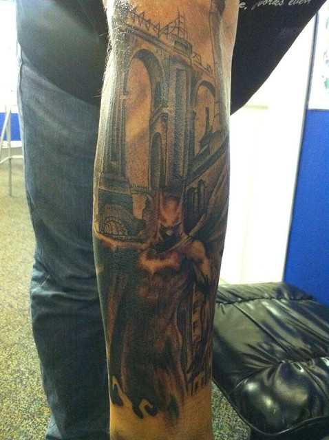 Start to a batman sleeve