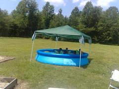 swimming pool(0.0), camping(0.0), tent(1.0),